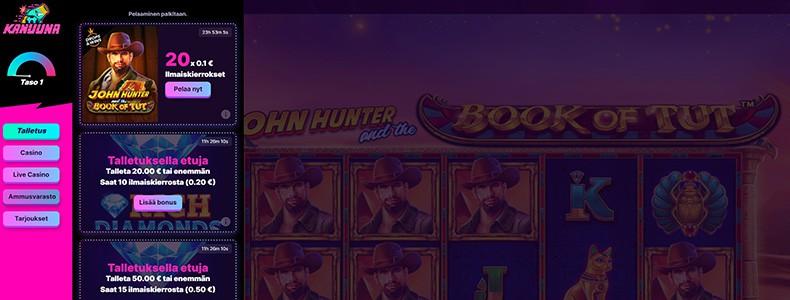 John Hunter Kanuuna Kasino