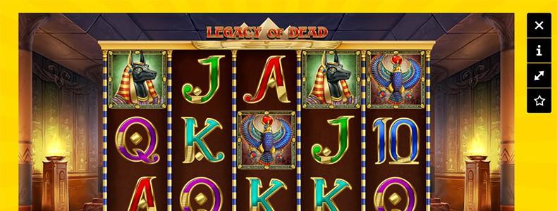 Kazoom Casino Legacy of Dead