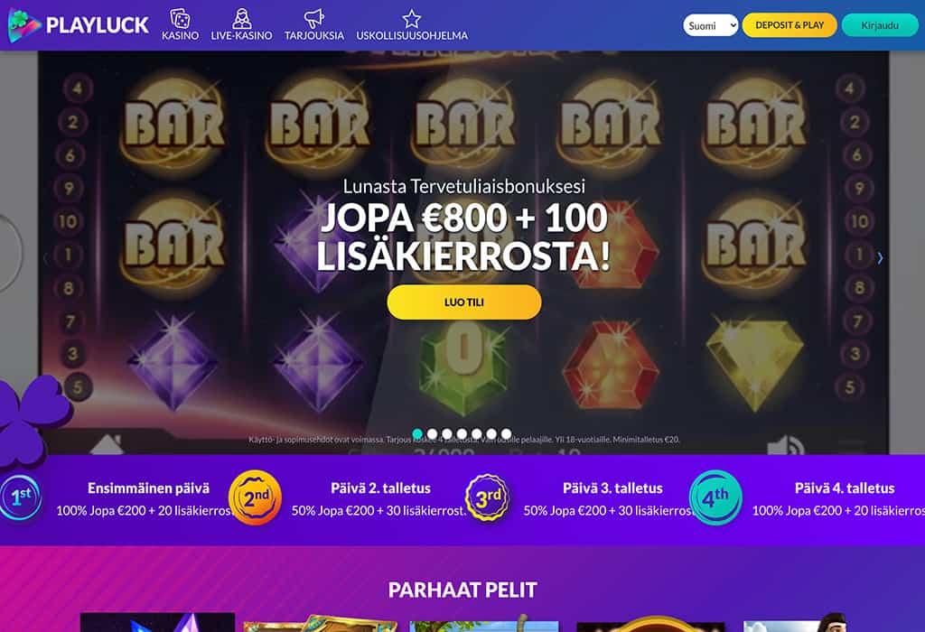PlayLuck Casino: Asiantuntijan kokemuksia ja arvostelu